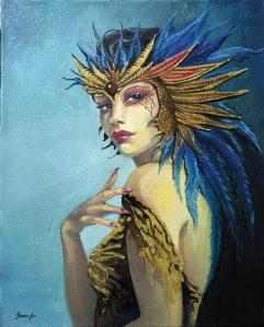 laperla-olio-su-tela-40x50-2014-serena-leo