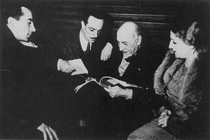 Eduardo incontra Luigi Pirandello. Due grandi della cultura italiana. Fonte Wikipedia