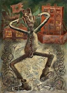 George Grosz - La danza dell'uomo grigio