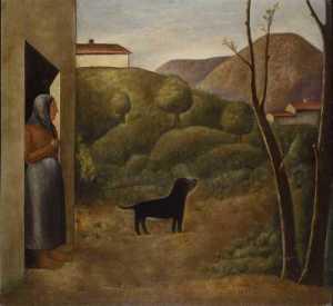 Carlo Carrà - L'attesa