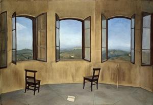 Jessie Boswell - Le tre finestre (La pianura della torre) - 1924