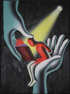 MARK KOSTABI - Seeing the light - 2003