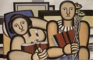 Fernand Legèr- La lettura - 1924