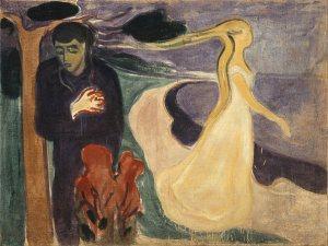 Edvard Munch - Separazione - 1896