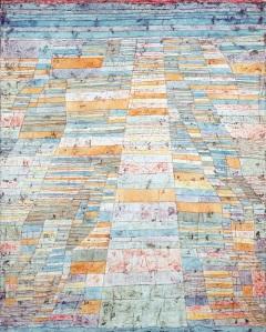 Paul Klee, Strada principale e strade secondarie, 1929