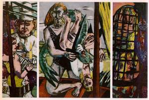 Max Beckmann, Perseo, 1941