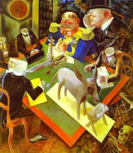 George Grosz - Eclisse di sole - 1926